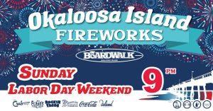labor day weekend in destin.. Okaloosa island fireworks